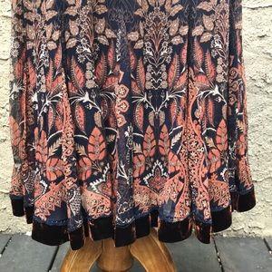 NWT Elie Tahari Natalia silk skirt